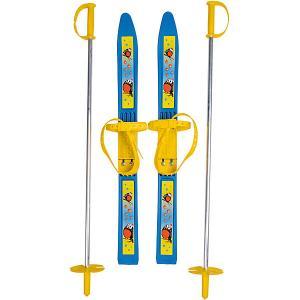 Лыжи с палками Олимпик-спорт Снегири 66/75 см Цикл. Цвет: белый