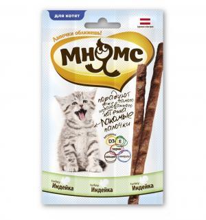 Лакомство  Лакомые палочки для котят, индейка, 30г Мнямс