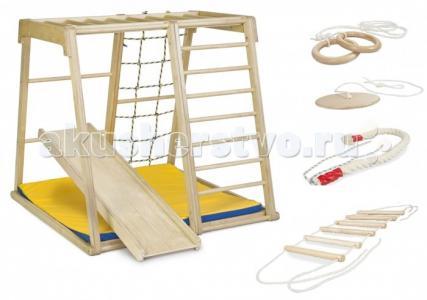 Деревянный игровой комплекс Парус комплектация Спорт Kidwood