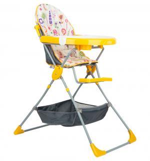 Стульчик для кормления  252, цвет: яркий луг/желтый Selby
