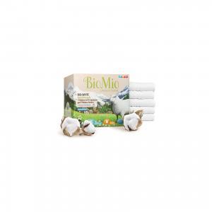 Экологичный стиральный порошок для белого белья с экстрактом хлопка, концетрат, BIO MIO