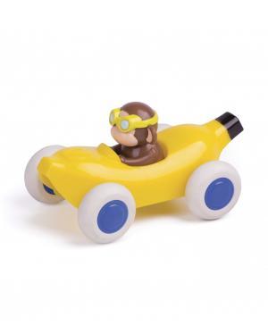 Машинка-банан 14 см, с Мартышкой Vikingtoys