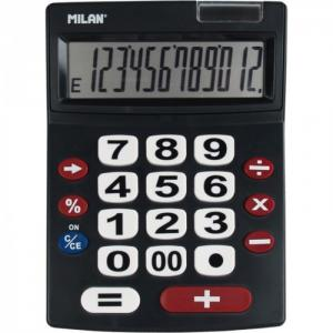 Калькулятор настольный полноразмерный 12 разрядов 151712BL Milan