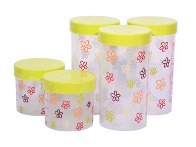 Набор eмкостей для жидких и сыпучих продуктов 5 шт. JA55172 Oursson