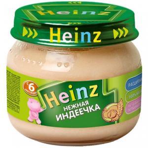Пюре  нежная индейка с 6 месяцев, 80 г Heinz