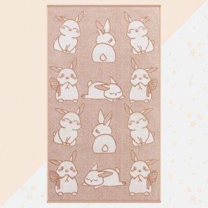 Полотенце махровое Милые зайчата 130х70 Этель