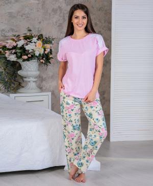 Футболка и брюки Цветущий сад2 Pastilla