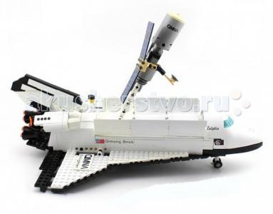 Конструктор  Спейс шаттл 514 (593 элементов) Enlighten Brick