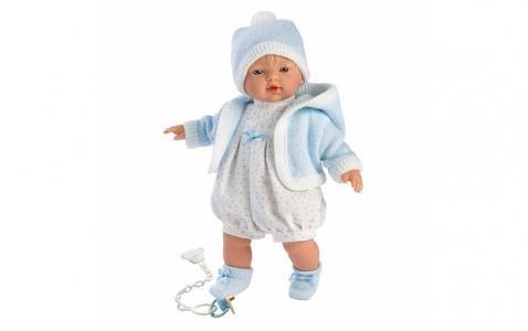 Кукла Роберт 33 см со звуком Llorens