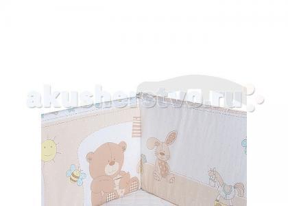 Комплект в кроватку  Чаепитие (7 предметов) Idea Kids