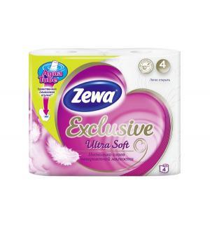Туалетная бумага Эксклюзив Ультра Софт 4 слоя , шт Zewa