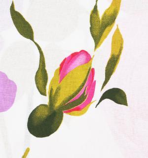 Комплект постельного белья  2-х спальный/нав. 70х70, цвет: белый/розовый Василиса