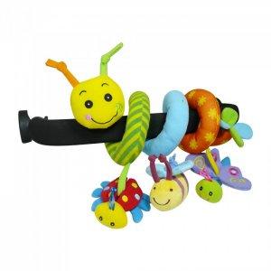 Развивающая спираль Гусеница и друзья Biba Toys