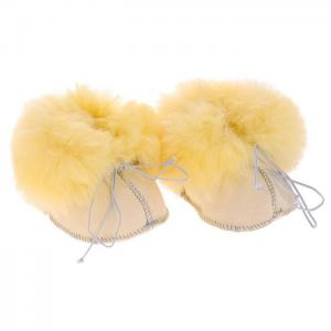 Носочки-пинетки Baby Basic из медицинской овчинки Ramili