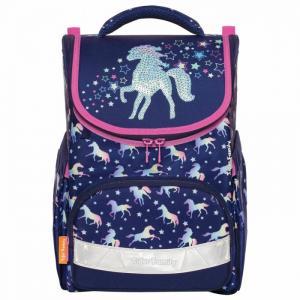 Ранец для начальной школы Earnest Rainbow Horse Tiger Family