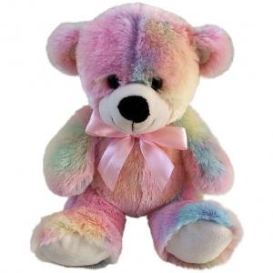 Мягкая игрушка  Мишка Радуга 22 см Fluffy Family