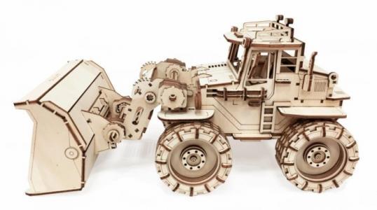 Трактор Бульдог (133 детали) Lemmo