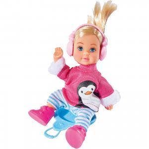Кукла Еви в зимнем костюме,12 см, Simba