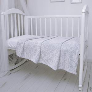 Плед  покрывало Micro Velur 100 х 118 Baby Nice (ОТК)