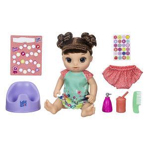 Интерактивная кукла Baby Alive Танцующая Малышка Шатенка Hasbro
