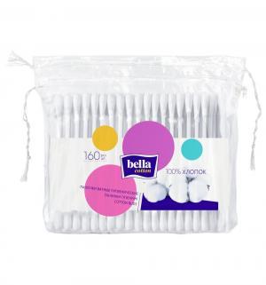 Ватные палочки пакет  Cotton, 160 шт Bella