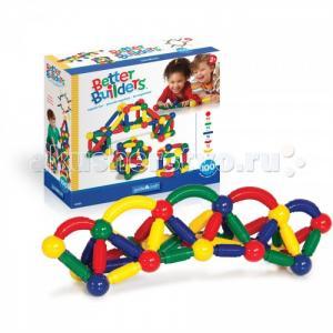 Конструктор  магнитный для малышей Better Builders 100 деталей Guidecraft