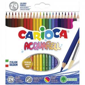 Карандаши акварельные Acquarell 24 цвета Carioca
