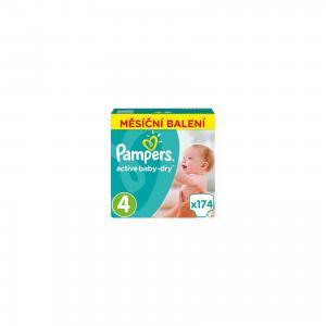 Подгузники  Active Baby-Dry 9-14 кг, 174 шт Pampers. Цвет: weiß/beige