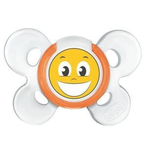 Пустышка  Physio Comfort Smile силикон, с 12 мес Chicco