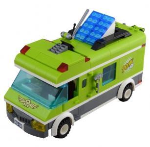 Конструктор  Зелёный фургон 1120 (380 элементов) Enlighten Brick
