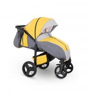 Прогулочная коляска  Elf, цвет: желтый джинс/серый Camarelo