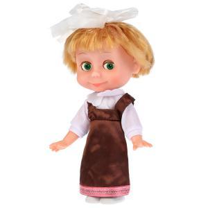 Кукла  Маша-школьница 25 см Карапуз