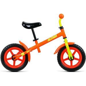 Беговел ALTAIR Mini, 12 дюймов. Цвет: оранжевый