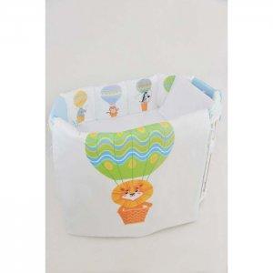 Комплект в кроватку  Зверята на воздушном шаре (6 предметов) Сонная сказка