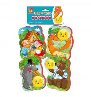 Мягкий пазл  Baby puzzle Колобок Vladi Toys