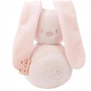 Мягкая игрушка  Lapidou Кролик музыкальная Nattou