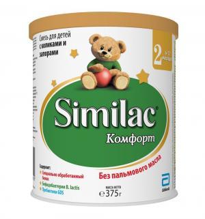 Молочная смесь  Comfort 2 6-12 месяцев, 375 г Similac
