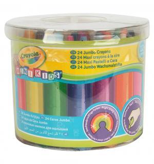Набор смываемых восковых мелков  Mini Kids 5 цв. Crayola