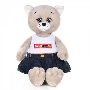 Мышель в джинсовой юбке и футболке 20 см Колбаскин&Мышель