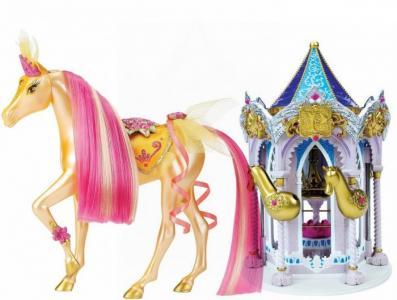 Набор Пони Рояль: карусель и королевская лошадь Солнечный луч Pony Royal
