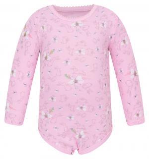 Боди  Алиса, цвет: розовый Free Age