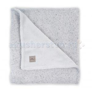 Плед  Вязаный с мехом Confetti knit 75x100 см Jollein