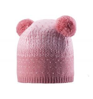 Шапка  Saana, цвет: розовый Reima