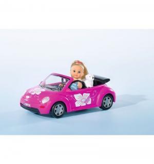 Кукла  Еви и машинка-кабриолет Simba
