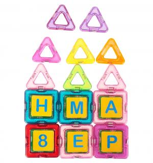 Магнитный конструктор  Магический магнит, голубой/розовый Tongde
