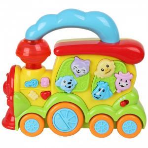 Развивающая игрушка  Паровозик со светом и звуком Veld CO