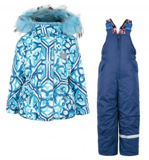 Комплект куртка/полукомбинезон  Майолика, цвет: голубой Stella