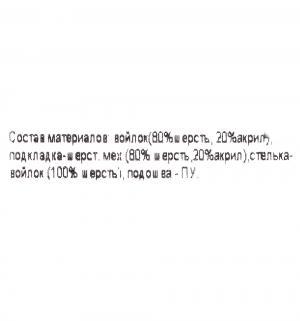 Валенки  Твитти, цвет: бежевый Филипок