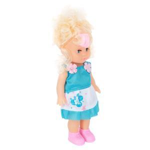 Кукла  В голубом платье 25 см S+S Toys