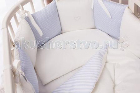 Комплект в кроватку  Неженка Oval (7 предметов) Perina